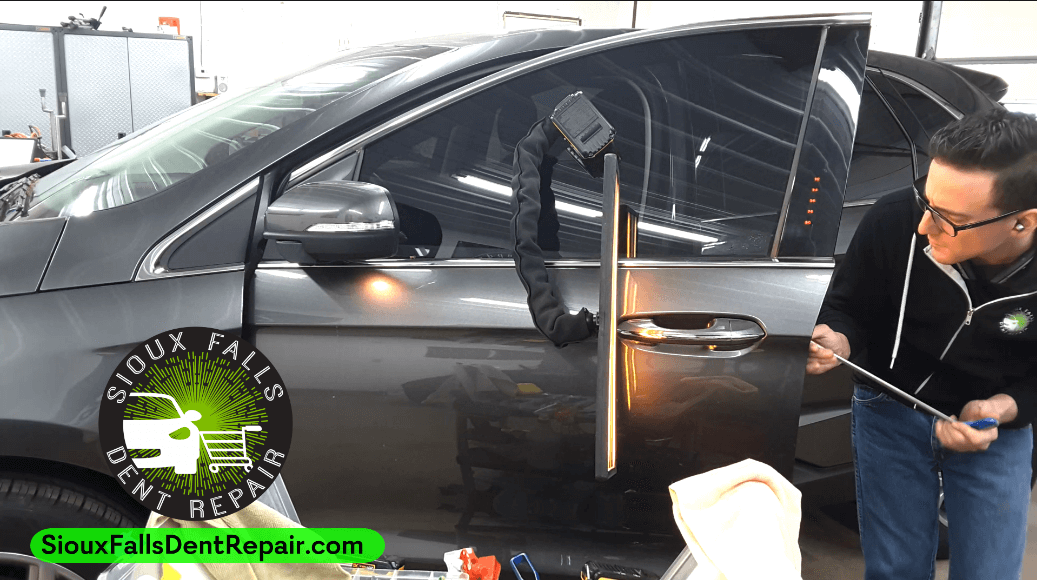 Door Ding Dent Repair in Sioux Falls, SD - 2017 Ford Edge ...