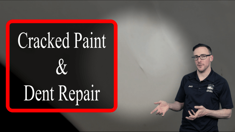 Paintless Dent Repair and Cracked Paint