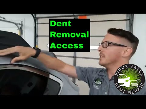 Hail Damage Repair Access