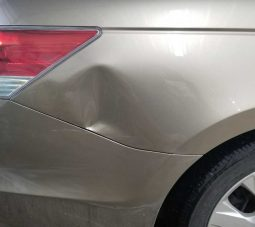 Honda Accord Quarter Panel - Paintless Dent Removal