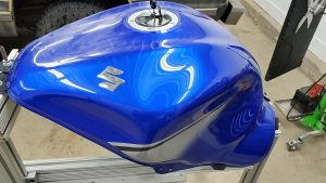 Motorcycle Dent Removal - Paintless Dent Repair