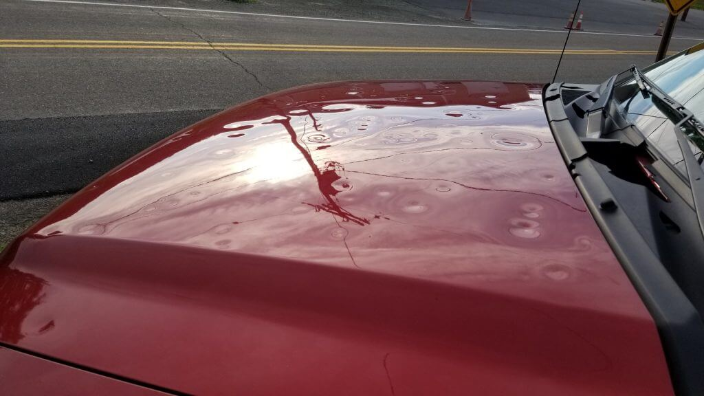 Extreme Hail Storm Damage - Sioux Falls Dent Repair
