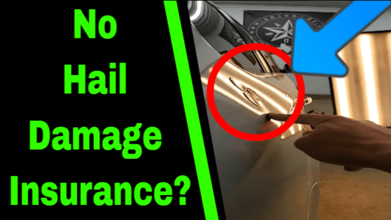 No Hail Damage Insurance?
