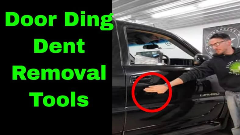 Door Ding Dent Removal Tools