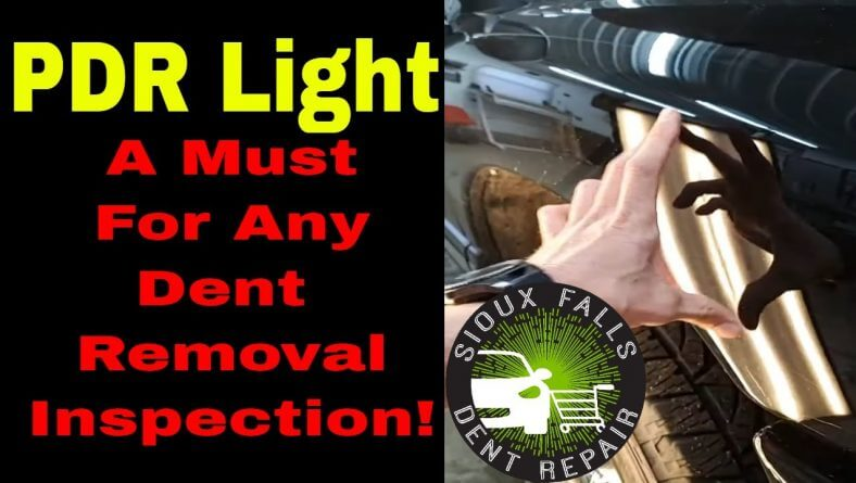 PDR Light – A Must For Any Dent Removal Inspection!